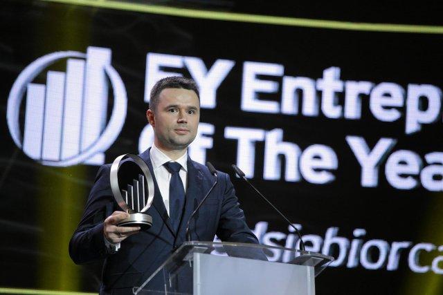 Marcin Grzymkowski jest reprezentantem Polski w międzynarodowym konkursie World Entrepreneur Of The Year organizowanym przez EY