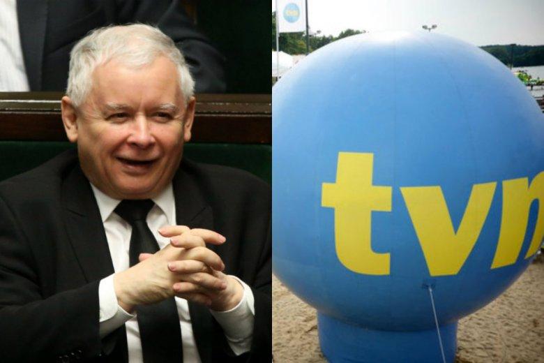 Jarosław Kaczyński jest inicjatorem dekoncentracji mediów. W efekcie TVN może zostać teraz zamknięty