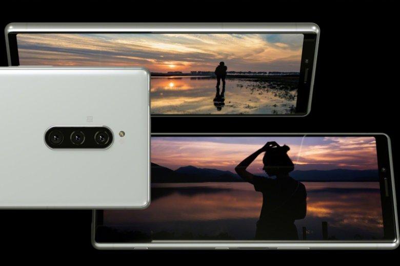 Xperia 1 to pierwszy na świecie smartfon z ekranem 4K OLED HDR o proporcjach 21:9