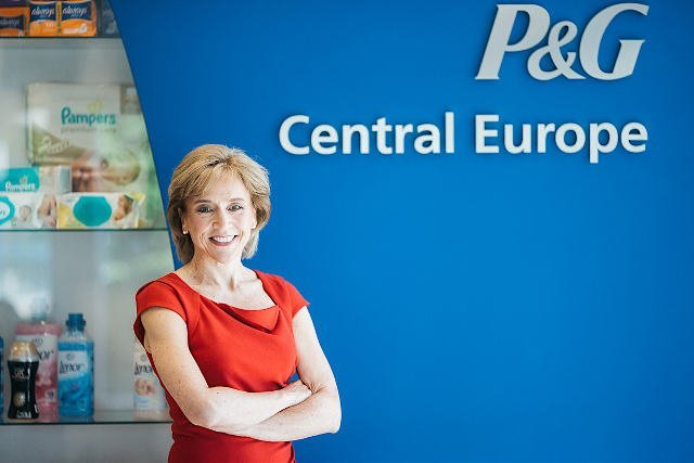 Geraldine Huse, Prezes Zarządu Procter & Gamble w Europie Centralnej