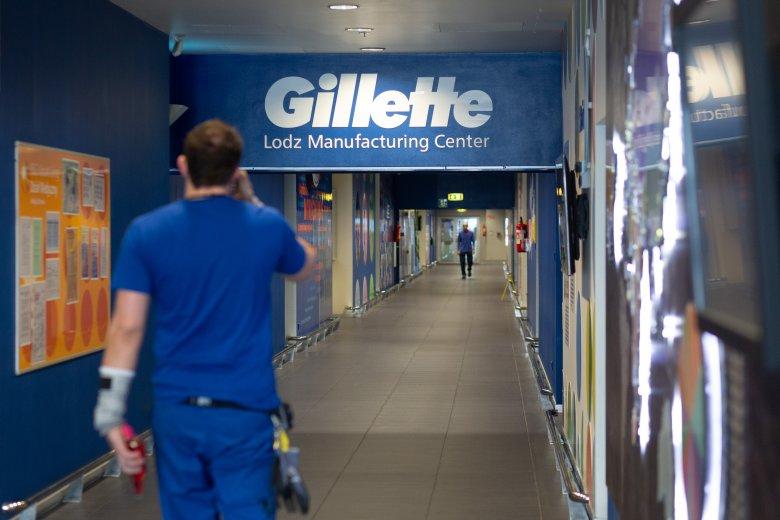 Fabryka Gillette w Łodzi jest największym zakładem tej marki na całym świecie.