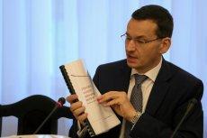 Tak wicepremier Mateusz Morawiecki mógłby prezentować zalety programu Auto Plus.