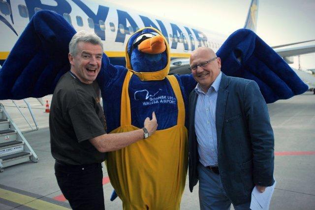 Szef Ryanaira słynie z barwnego sposobu bycia