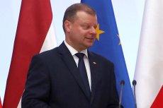 Saulius Skvernelis zostanie Człowiekiem Roku Forum Ekonomicznego w Krynicy