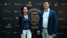 Anna Streżyńska i Arkadiusz Szczebiot z MC2 Innovations stworzyli Carrotspot - platformę do motywowania, nagradzania i angażowania pracowników.