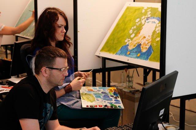 """Na """"Loving Vincent"""" składa się ponad 60 tys. ręcznie namalowanych klatek."""